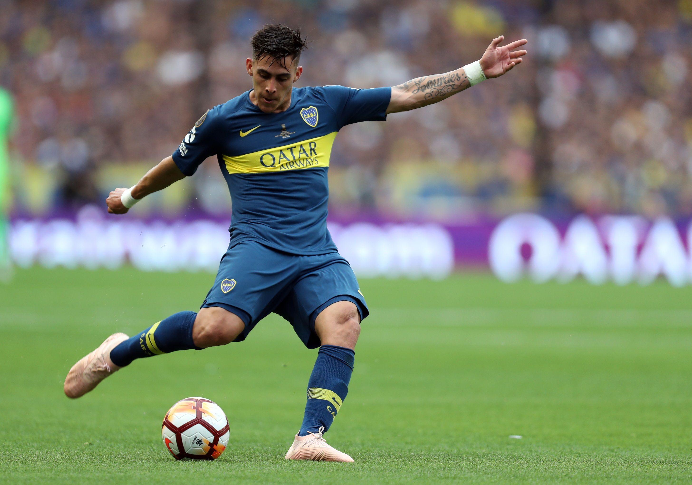 En la imagen, el jugador de Boca Juniors Cristian Pavón. EFE/Raúl Martínez/Archivo