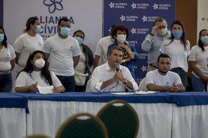 La opositora Alianza Cívica por la Justicia y la Democracia de Nicaragua. EFE/Jorge Torres/Archivo