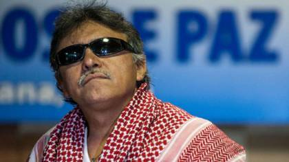 Jesús Santrich, ex negociador de paz de las FARC en La Habana.