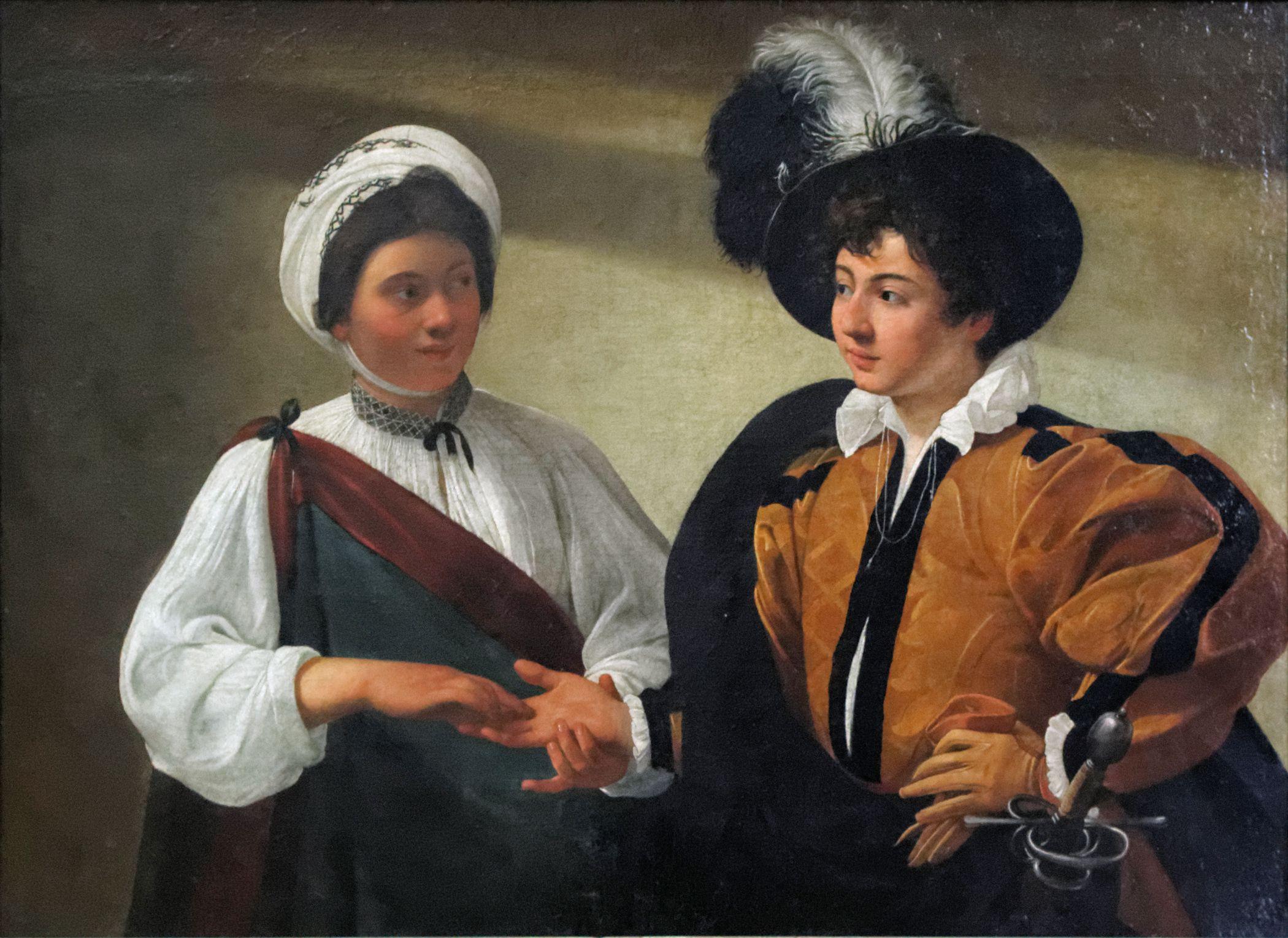 La buenaventura Caravaggio