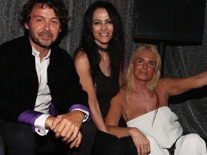 Wally Diamante, Cindy Teperman y Mercedes Sarrabayrouse
