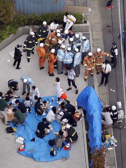 (Jun Hirata/Kyodo News via AP)