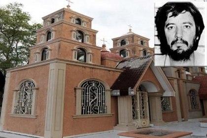 El costoso mausoleo donde descansan los restos del narcotraficante (Foto: archivo)