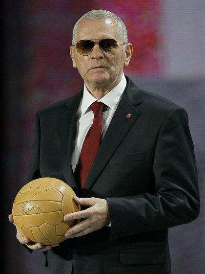 Viktor Ponedelnik, ancien joueur de l'URSS. EFE / Sergey Dolzhenko / Archives
