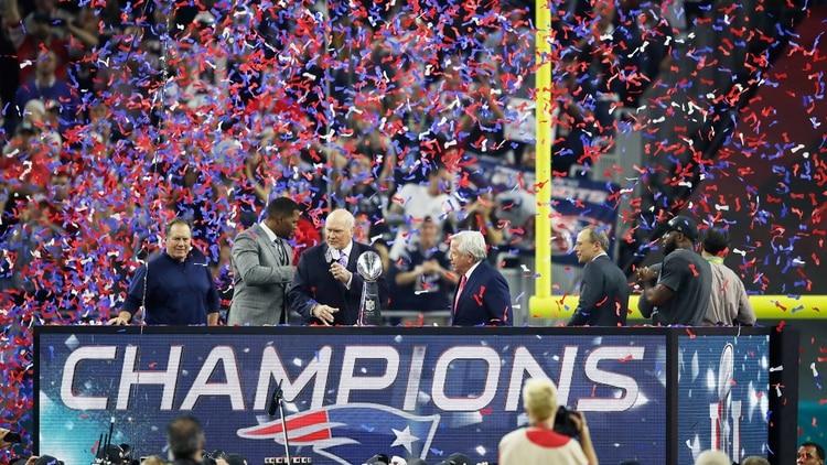 Bajo la gestión de Robert Kraft, los Patriots han ganado seis veces el Super Bowl de la NFL
