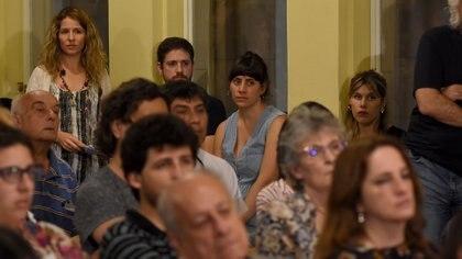 Luciana Mantero ente los asistentes (Nicolás Stulberg)