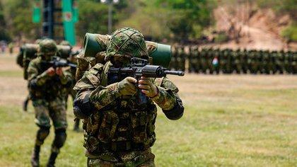250 desplazados y cinco víctimas de minas antipersona, el saldo de los combates entre el Ejército y las disidencias de las Farc en Argelia, Cauca