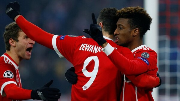 El Bayern Munich goleó 5-0 al Besiktas (REUTERS)