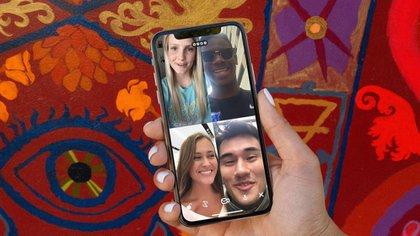 House Party ha sido una apps más descargadas para jugar y mantenernos en contactos con nuestros seres queridos (Foto: House Party)