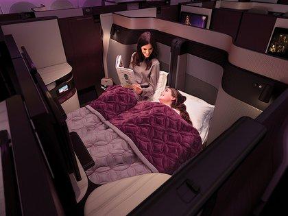 Primera clase en Qatar Airways