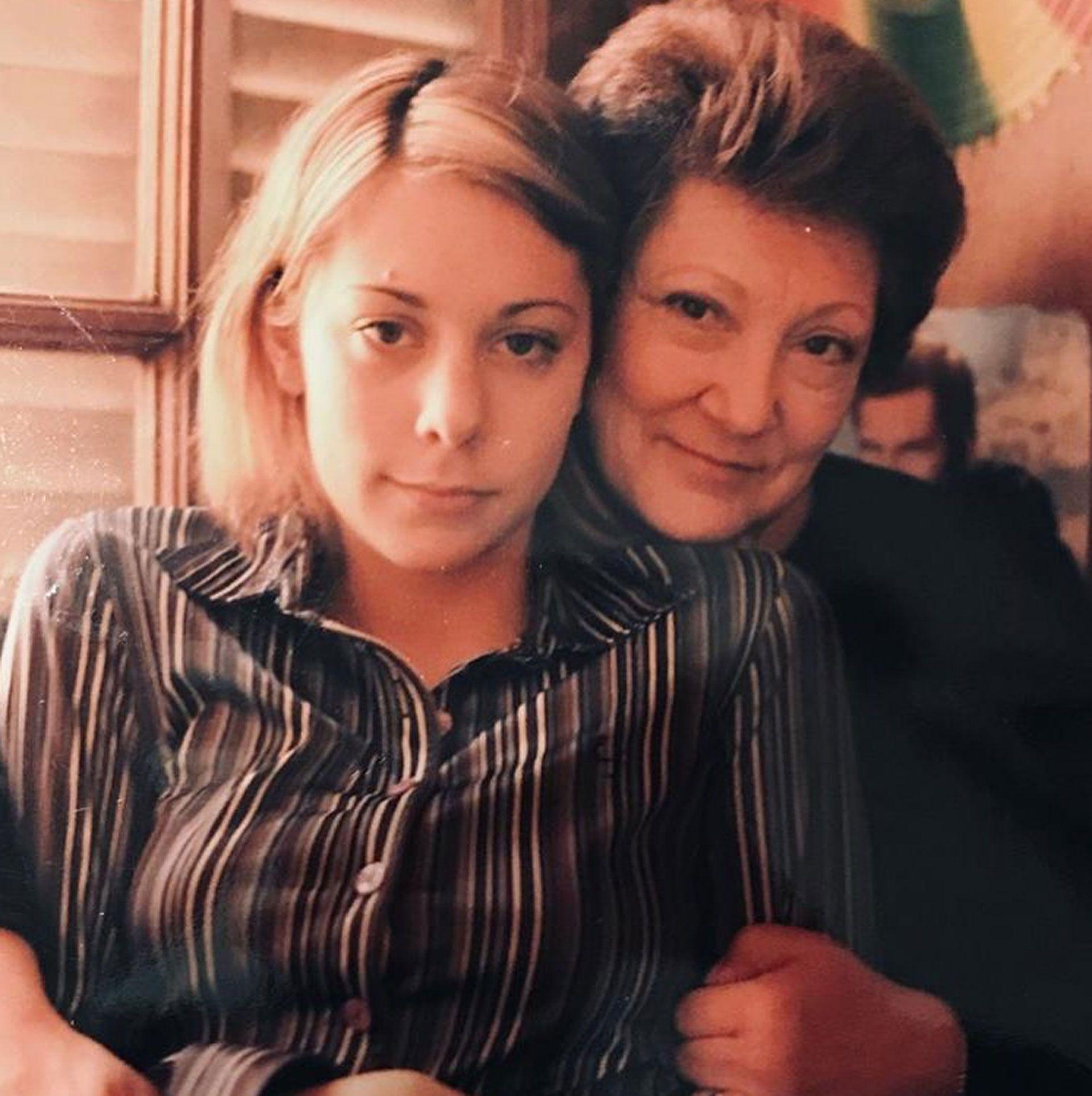 Maitena eligió esta foto en la que aparece con su mamá para el posteo que compartió el Día Nacional del Derecho a la Identidad