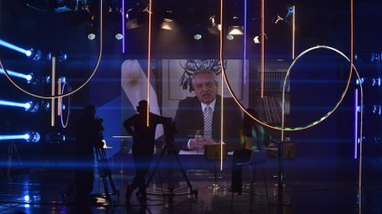 El presidente Alberto Fernández en el Coloquio de IDEA