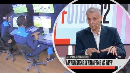 El exárbitro argentino Javier Castrilli arremetió contra el juez colombiano Nicolás Gallo, por su criterio al manejar el VAR del partido de vuelta entre Palmeiras y River Plate por la semifinal de la Copa Conmebol Libertadores 2020.