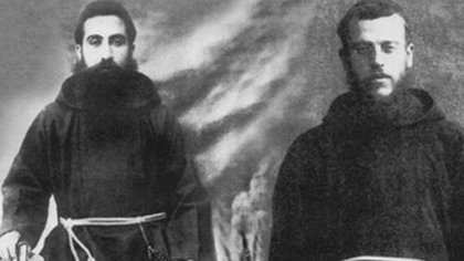 Los mártires Leonardo Melki y Thomas Saleh. (Foto: Congregación para las Causas de los Santos)