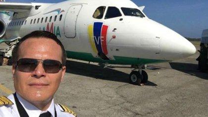 Miguel Quiroga fue el piloto que manejó la aeronave (Facebook)