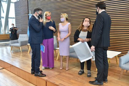 (Fotos prensa Ministerio de Justicia/Matias Gontán)