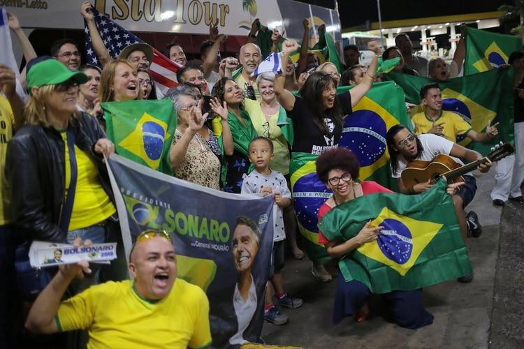 Bolsonaro ganó las elecciones en segunda vuelta con el 55% de los votos (REUTERS/Amanda Perobelli)