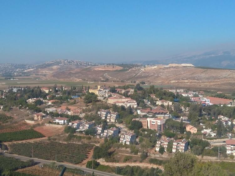 En la frontera con Líbano se descubrieron hace pocos meses 6 túneles escavados por terroristas de Hezbollah