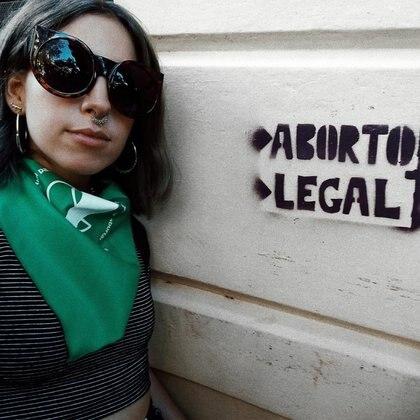 Juliana, la más joven de las mujeres, ayudó a que el aborto dejara de ser un tabú en su familia