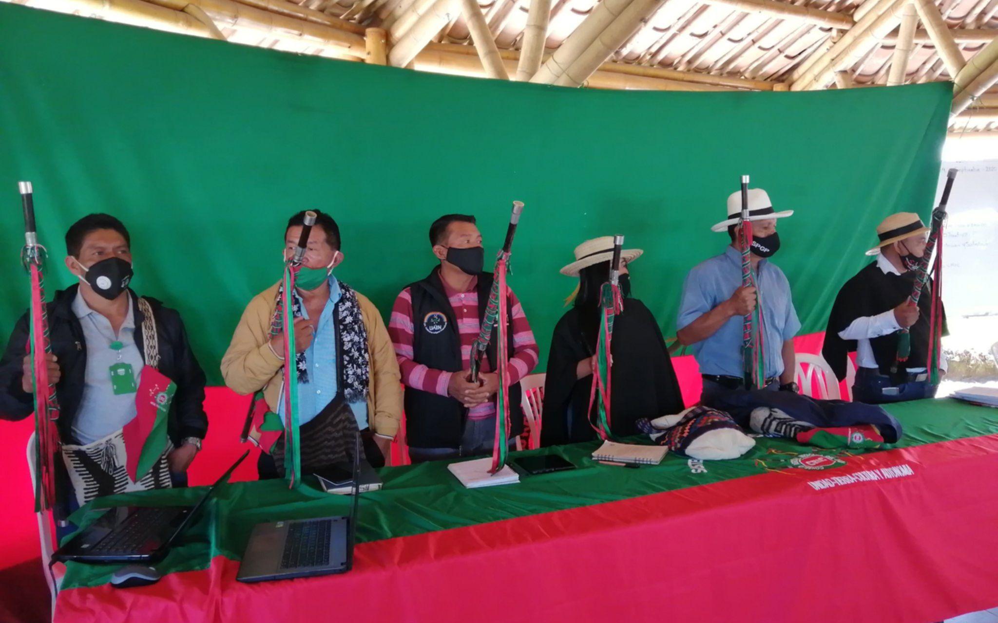 Indígenas del Cauca colombiano anuncian La Minga que se llevará a cabo en la región (Twitter: @CRIC_Cauca)