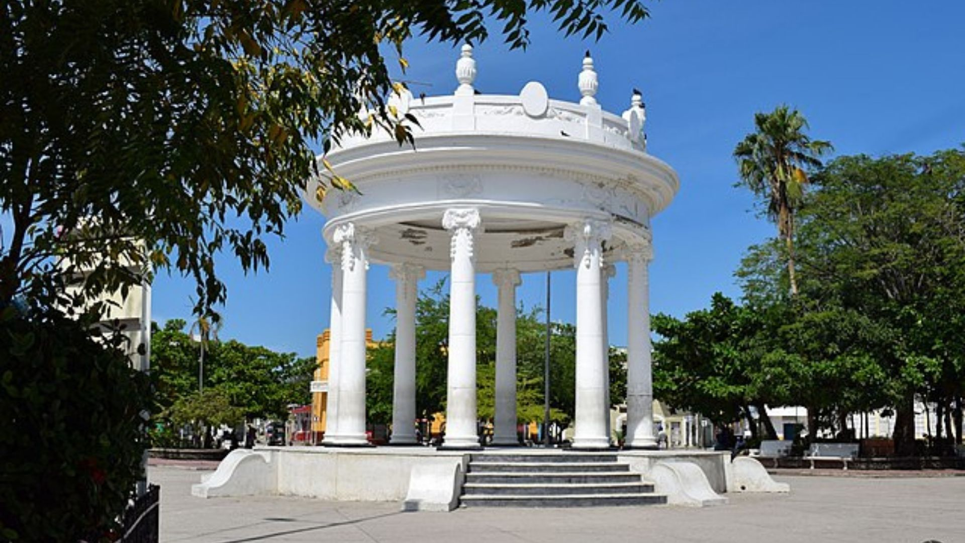 Plaza centenario Ciénaga Magdalena. Foto: Wikimedia Commons