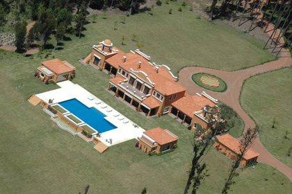 La Mary, la mansión más grande de Susana Giménez
