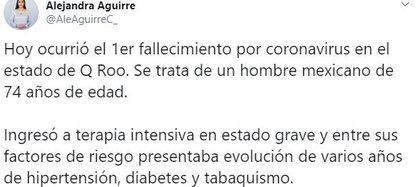 (Foto: Twitter/AleAguirreC_)