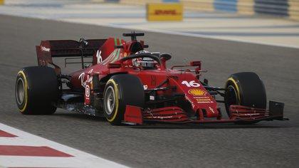 Ferrari SF 21 (REUTERS/Hamad I Mohammed).