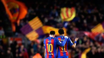 El objetivo de Neymar es volver a encontrarse con su amigo Lionel Messi en el Barcelona (AP)