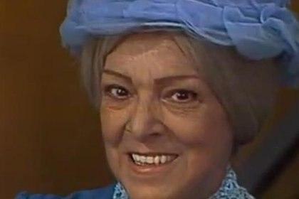 Angelines Fernández murió el 25 de marzo de 1994 (Foto: YouTube)