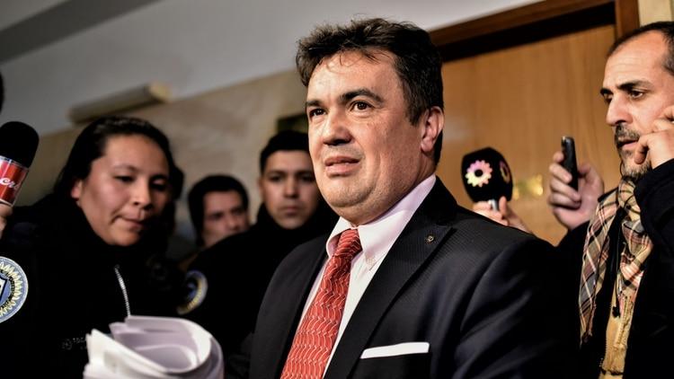 FIscal federal Guillermo Marijuán (Adrián Escandar)