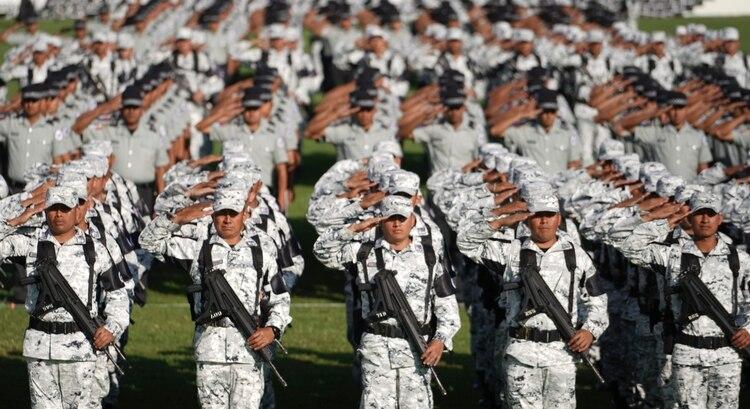 El despliegue de la recién creada Guardia Nacional no ha mostrado una mejoría en la seguridad ni ha disminuido la violencia en el país (Foto: Presidencia de México)