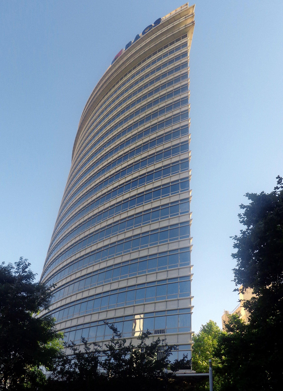 El Edificio República, donde Facebook tiene sus oficinas