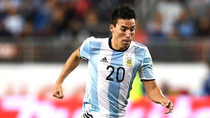 Gaitán pretende volver a tener espacio en la selección argentina (AFP)