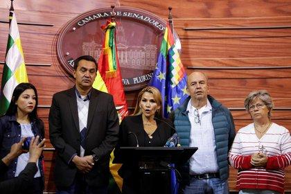 El Gobierno interino de Bolivia, encabezado por Jeanine Áñez (REUTERS)