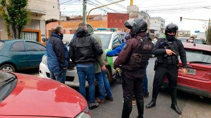El operativo del arresto.