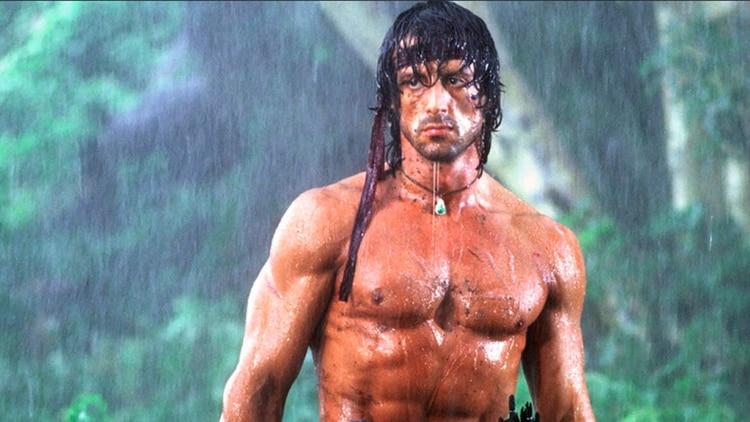 La saga de Rambo fue una de las más populares en la década de 1980