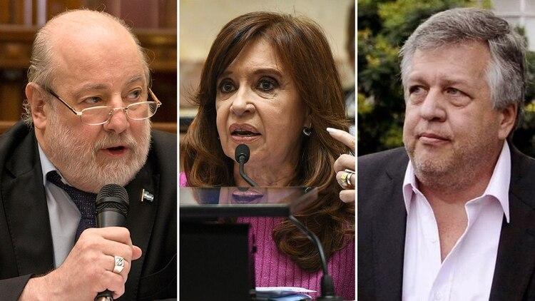 Claudio Bonadio, Cristina Kirchner y Carlos Stornelli