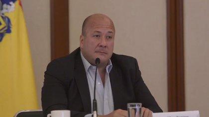 Alfaro anunció que por recomendación de la mesa de salud se cancelan las giras a los municipios de Jalisco por tiempo indefinido (Foto: Captura de pantalla)