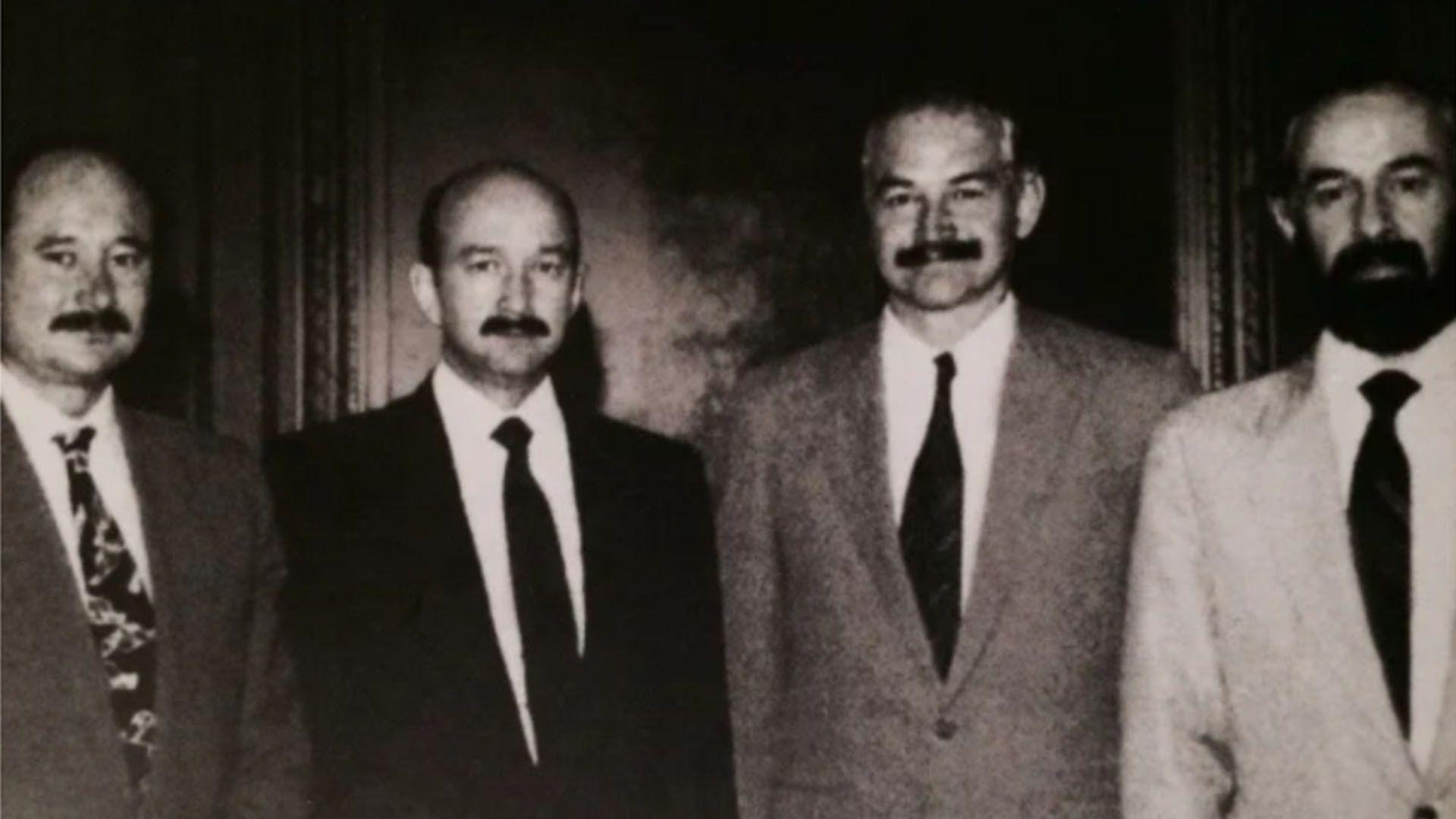 Enrique, Carlos, Raúl y Sergio Salinas de Gortari