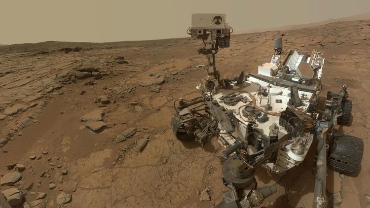 El robot Curiosity es el primer laboratorio espacial en otro planeta