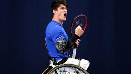 Gustavo Fernández llegó al número uno del ranking (Photo by Daniel Smith/Getty Images for LTA)