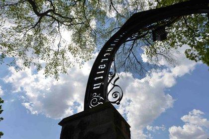 El inconfundible arco de entrada de Northwestern University (Northwestern University)