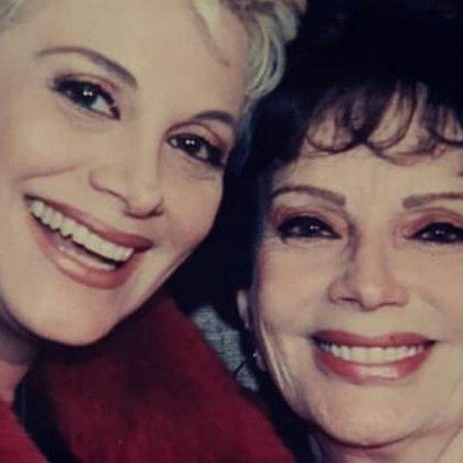 Carmen Barbieri y su mamá, Ana Caputo (Foto: Instagram/Barbieri_Carmen