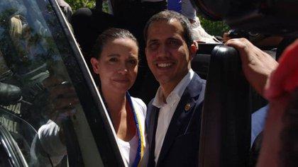 María Corina Machado mantuvo un encuentro con Juan Guaidó en Altamira