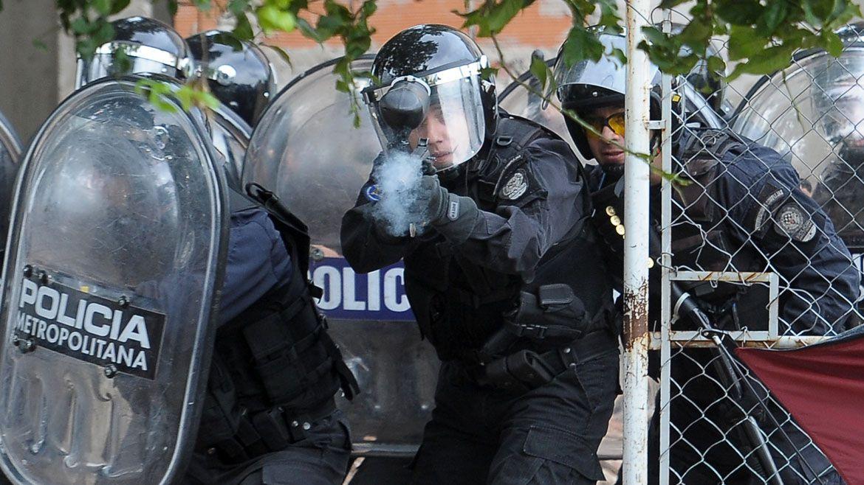 Según el gobierno porteño, el costo de la policía para la Ciudad asciende a 38.200 millones de pesos (Télam)