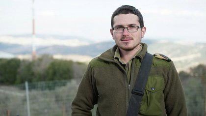 Israel Silinberg, capitán de las FDI en la frontera con Líbano