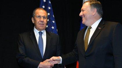 Lavrov y Pompeo discutirán la crisis venezolana (Reuters)