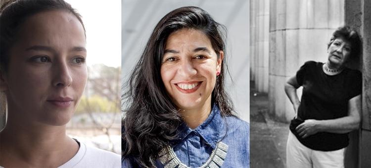Mariana Telleria, Teresa Riccardi y Margartia Paksa