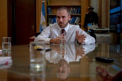 El ministro de Economía, Martín Guzmán, fue entrevistado por Bloomberg TV